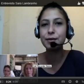 VETOR - Entrevista Sara Lambranho