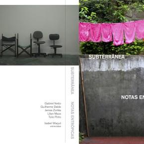 Lançamento do livro SUBTERRÂNEA NOTAS ENTRÓPICAS